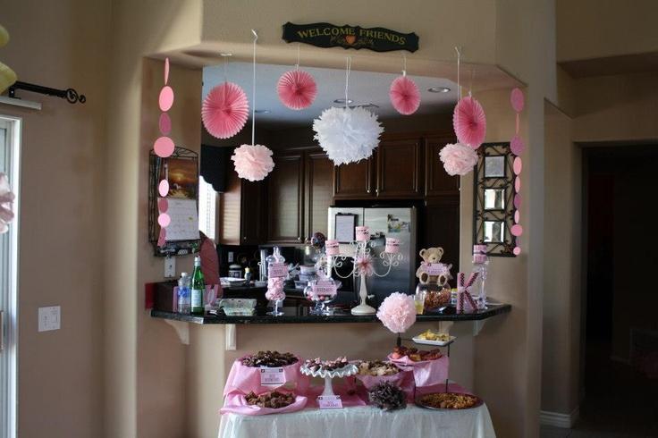 baby shower dessert bar