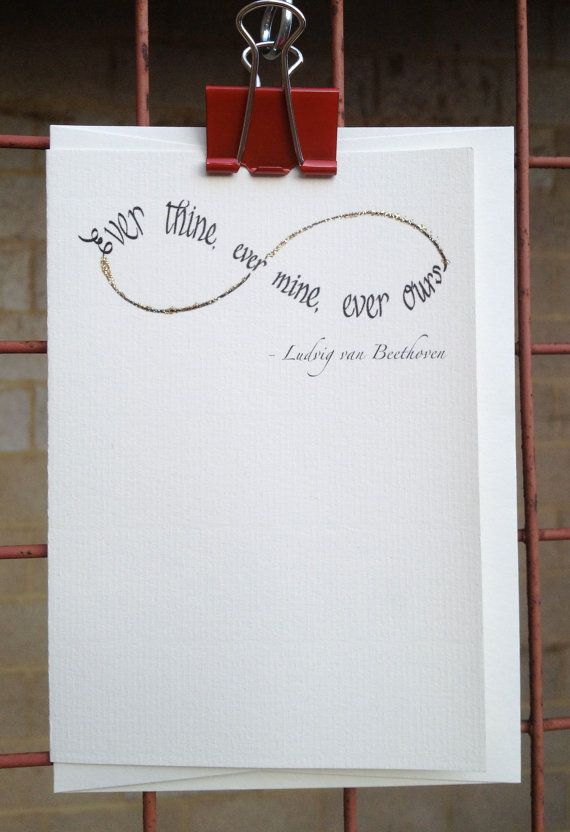 infinite love ever thine ever mine ever ours ludwig van