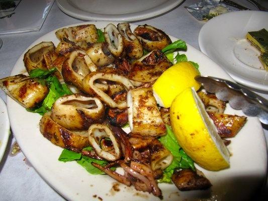 grilled calamari | Food/ Recipes | Pinterest