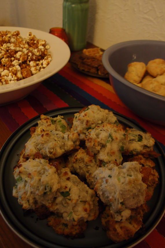 Blue Cheese - Scallion Drop Biscuits Recipe
