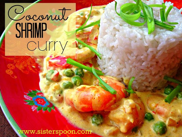 Sister Spoon - Coconut Shrimp Curry. This is an easy recipe -- it all ...