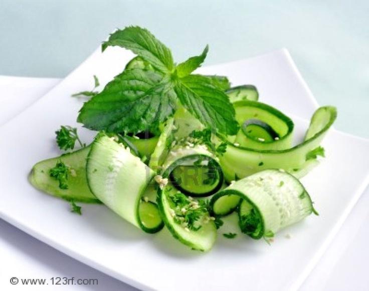 cucumber sesame salad | melange | Pinterest