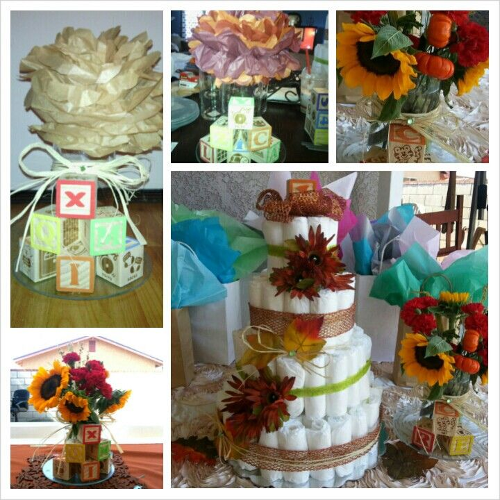fall theme baby shower my lovely creations pinterest