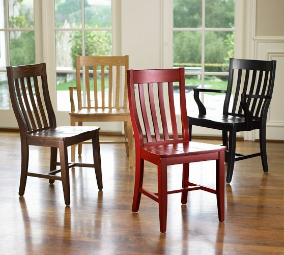 Schoolhouse chair pottery barn dining room pinterest - Pottery barn schoolhouse chairs ...
