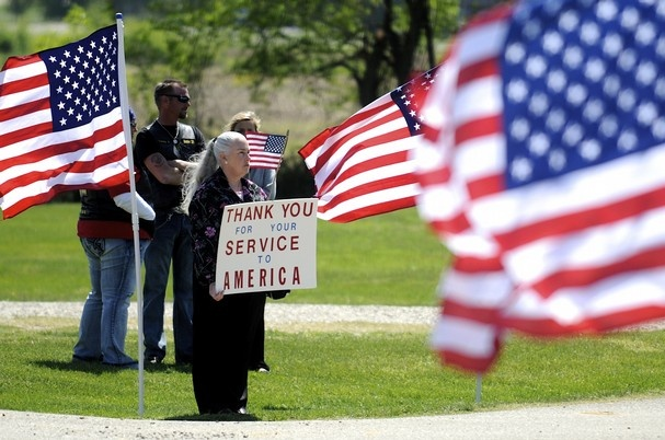 Just remember on this Memorial Day, every soldier , past and present  deserve our thanks for thier service to our country.