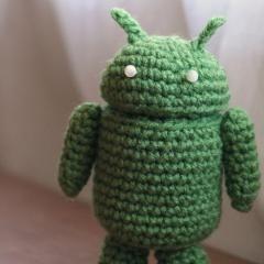 Free Amigurumi Robot Pattern : free Android Robot amigurumi pattern Crochet amigurumi ...