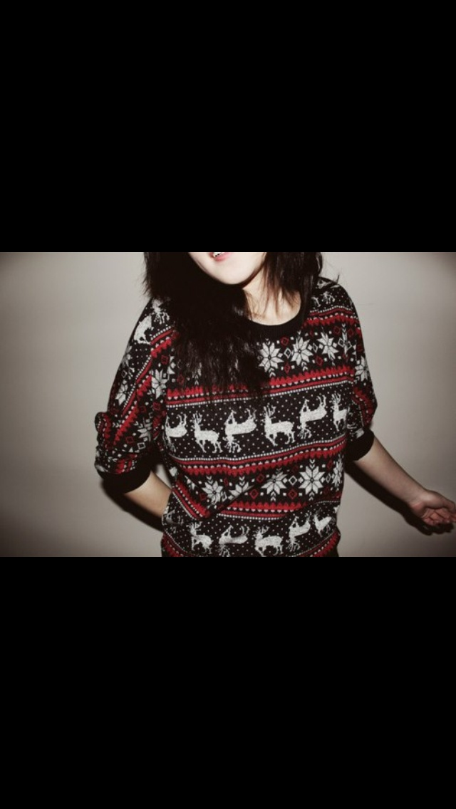 Cute Christmas sweaters >> | Things Girls Want | Pinterest
