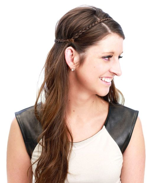 Easy Long Hairstyles for a Rainy Day