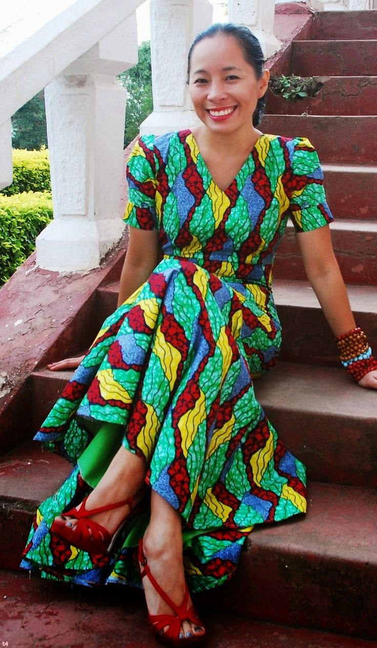Wonderful Party Dress African Fashion Ankara Kitenge African Women Dresses