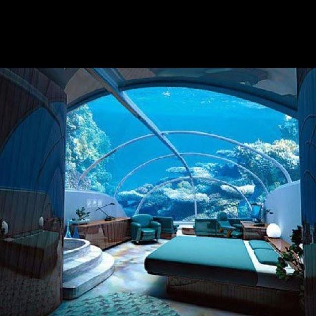 under the sea bedroom