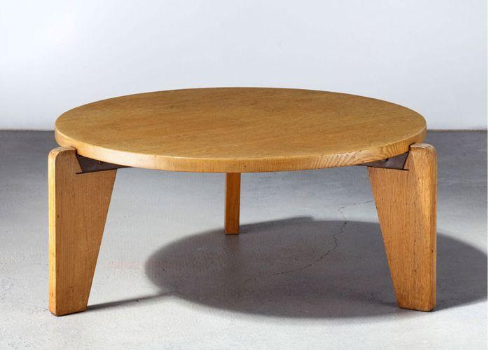 Low table jean prouve furniture design pinterest - Jean prouve coffee table ...