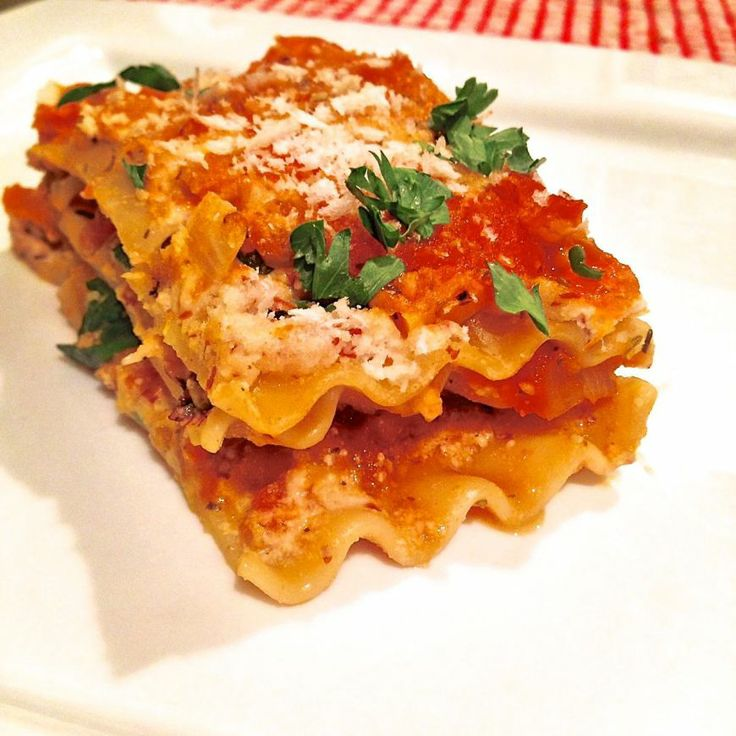 Vegan Roasted Vegetable Lasagna with Cashew Ricotta and Homemade Fresh ...