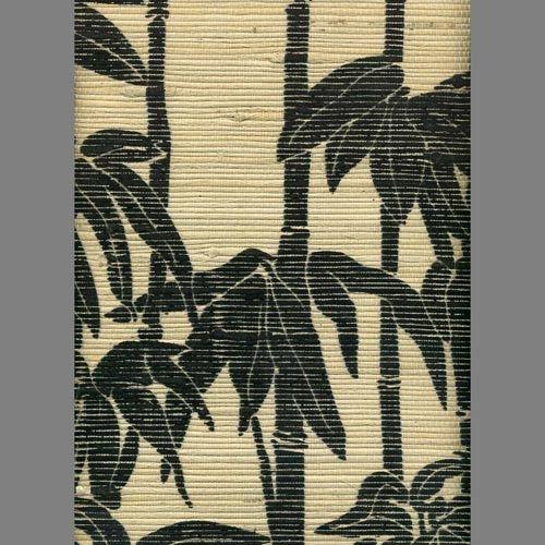 Printed Grasscloth Wallpaper: Screen Printed Grasscloth Wallpaper 2017