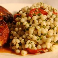 Seared Scallops With Israeli Couscous Recipes — Dishmaps