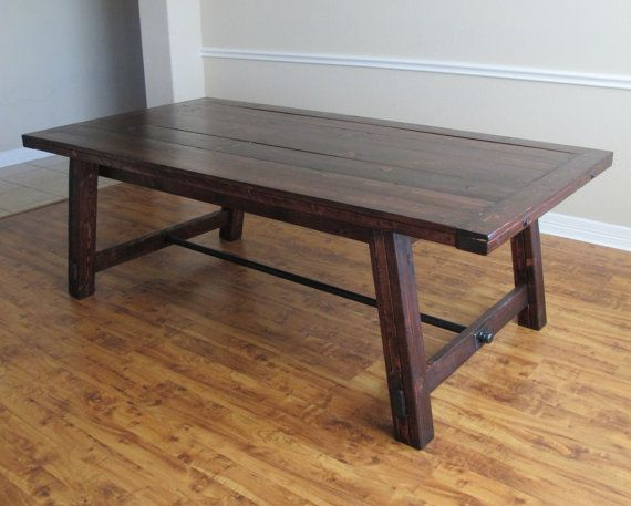 handmade rustic dining table 8 person