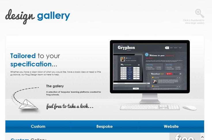 Frog3.0 VLE Design Gallery.