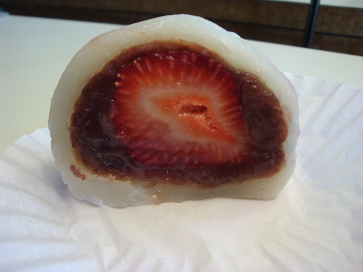 strawberry daifuku mochi flickr photo sharing strawberry daifuku mochi ...
