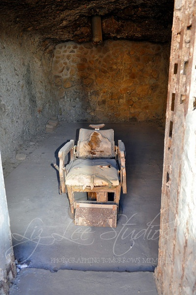 Not what you might think.. .a barbers chair, Yuma Prison