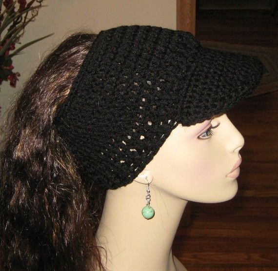 Crochet Hair Hat : hair thru crochet hat hooked on hats Pinterest