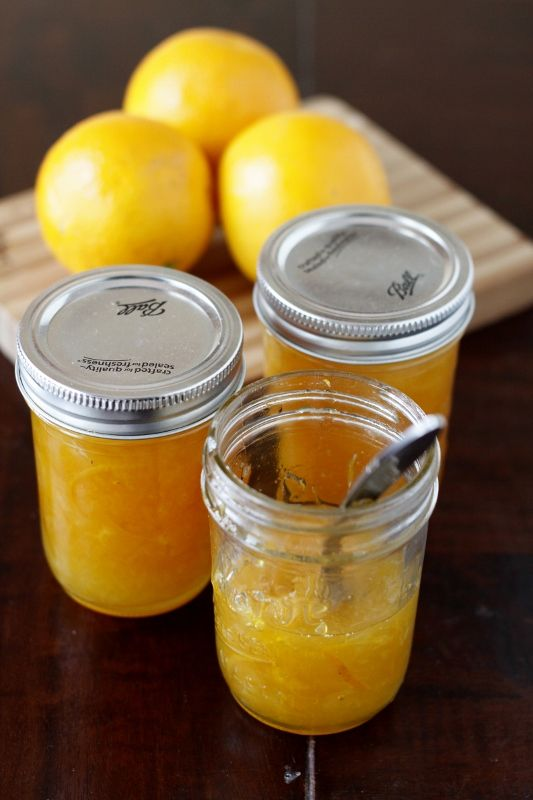 Orange Marmalade - I don't buy store bought jelly anymore. Homemade is ...
