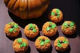 My story in recipes: Pumpkin Rice Crispy Treats
