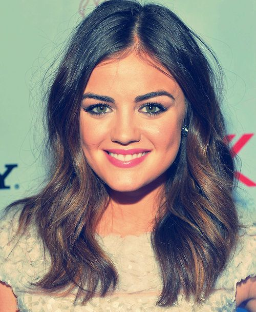 Lucy hale ombre hair