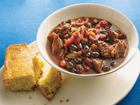 Come home to a spicy chili filled with Progresso® black beans, beef ...