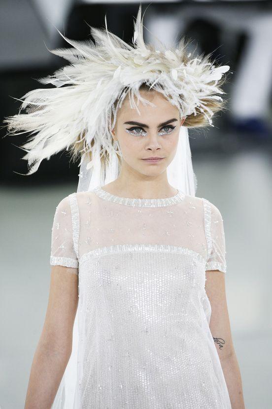 Détails défilé Chanel haute couture printemps-été 2014|114