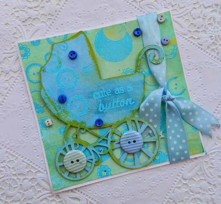 Inspired by Stamping, Oh, Baby Stamp Set, Irit Shalom, baby card