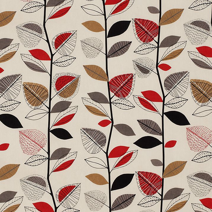 John Lewis Autumn Leaves Fabric | Home | Pinterest