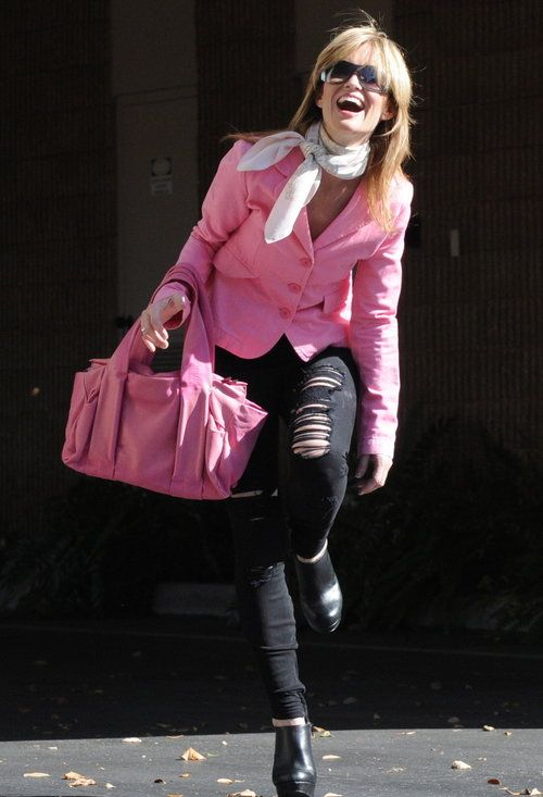 Pink is for princesses…  , Costume National in Bags, Hermes in Scarves / Echarpes, Chanel in Glasses / Sunglasses
