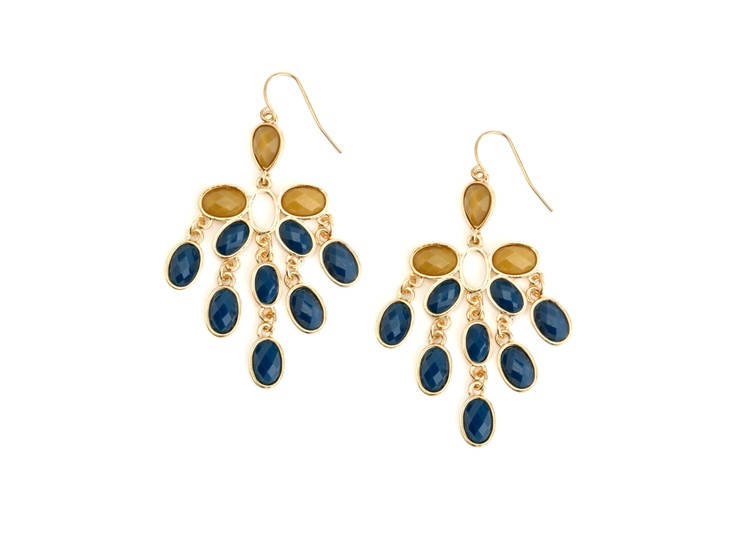 Colorful Cascata Earrings Such a pretty blue