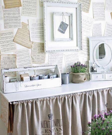 Shabby-Chic-Bureau   home decorating ideas   Pinterest