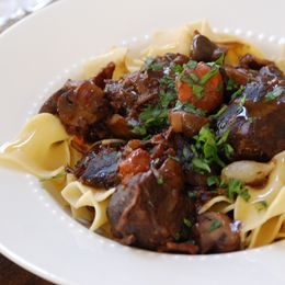 bacon, mushroom and beef stew | Recipes: Soups & Stews | Pinterest