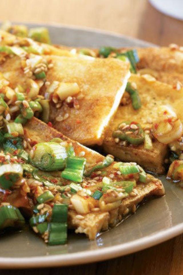 Seasoned Tofu   food   Pinterest