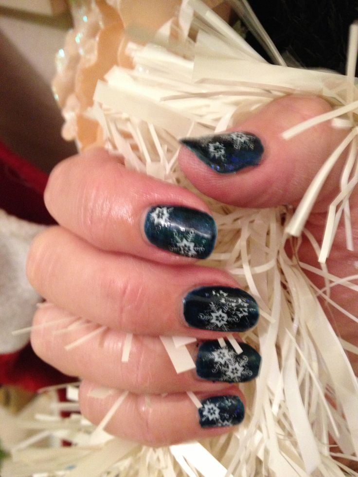 shellac with Konad nail stamping by me | Nails & nail art by Cath | P