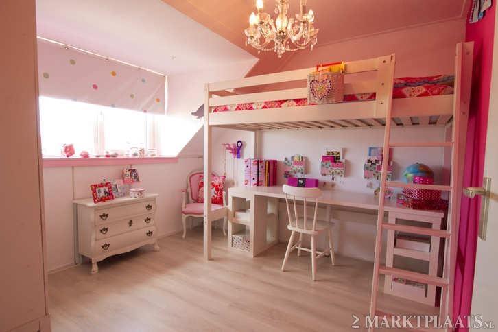 Slaapkamer ideeen hoogslaper - Kamer wanddecoratie kind ...