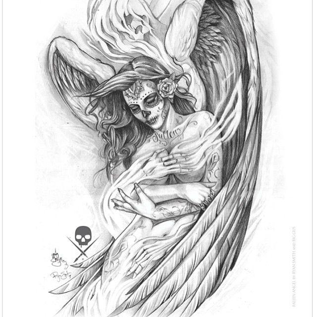 Big Gus Angel Girl Drawing Amazing Artist Big Gus
