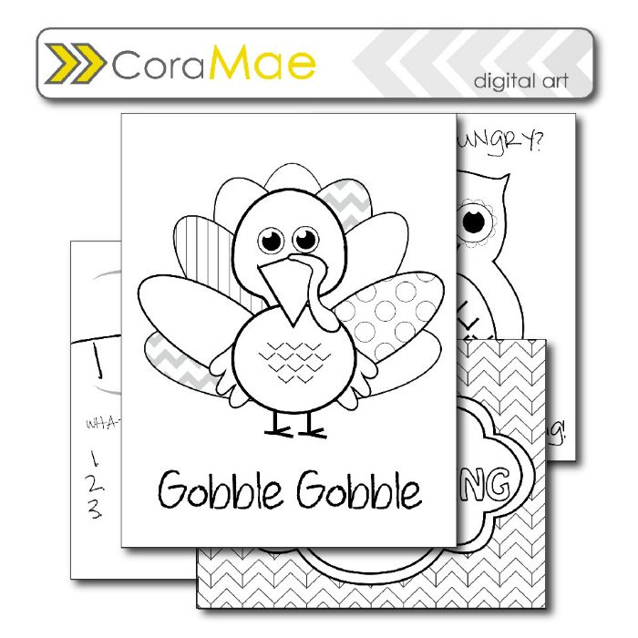 thanksgiving pre k coloring pages - photo#6