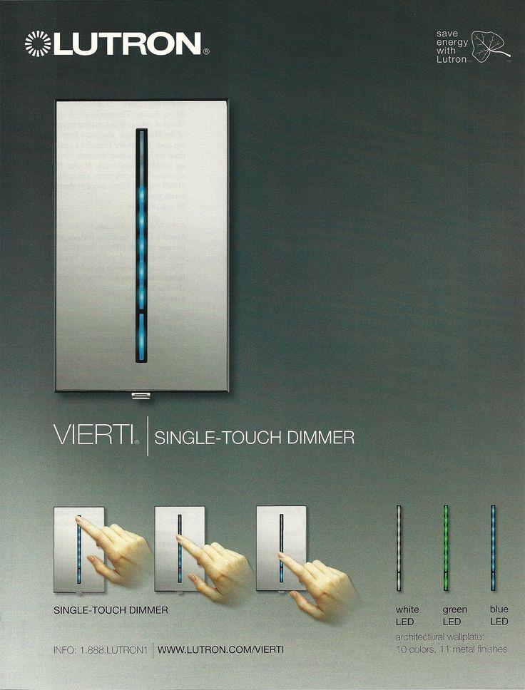 led light switch dimmer home 00 pinterest. Black Bedroom Furniture Sets. Home Design Ideas