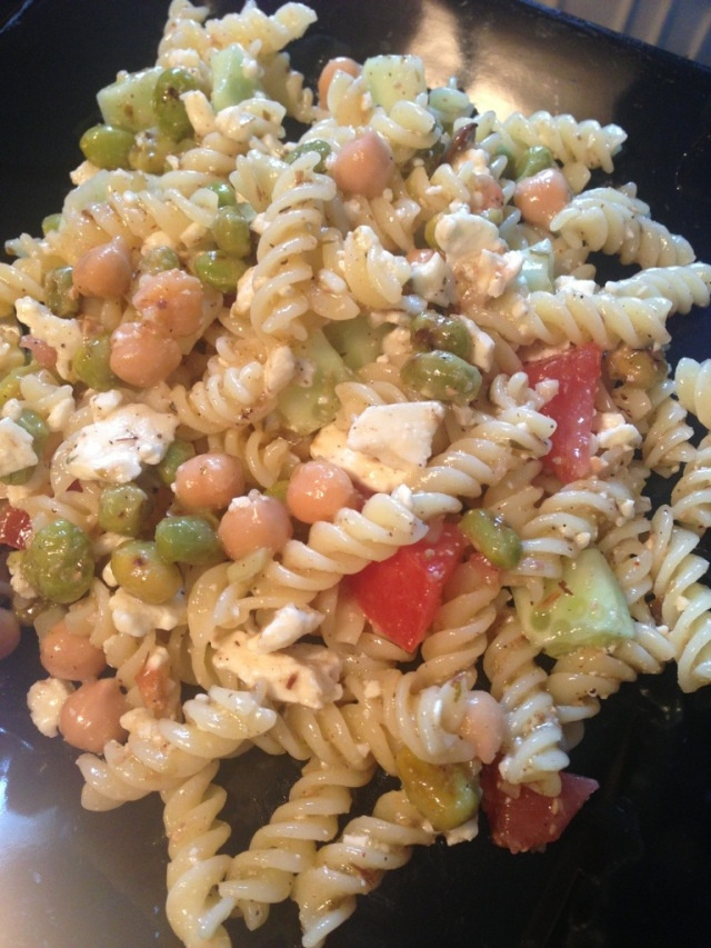 Greek pasta salad | for the Chef in me | Pinterest