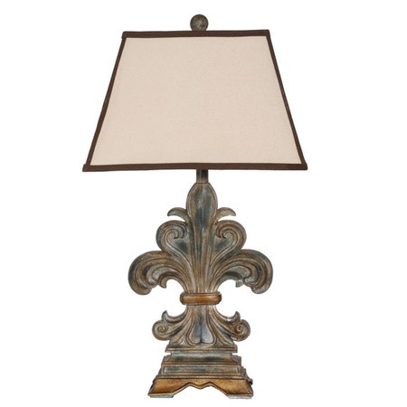pinned this fleur de lis table lamp from the buyers 39 boutique event. Black Bedroom Furniture Sets. Home Design Ideas
