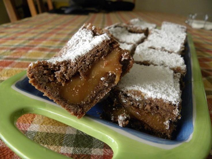 KNOCK YOU NAKED BROWNIES - Fudgy German chocolate cake with a caramel ...