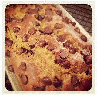 Pumpkin Chocolate Chip Bread - recipe with sour cream and oil, maybe ...