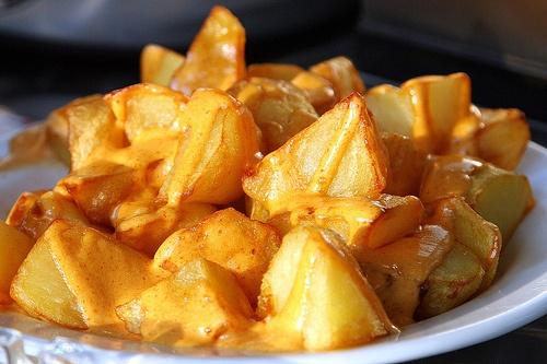 Patatas Bravas | Comida / Food | Pinterest
