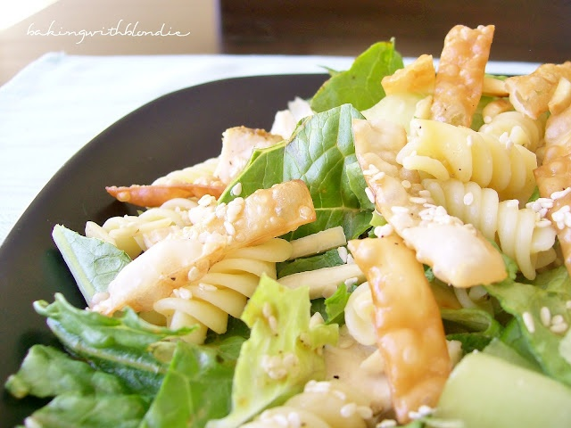 Baking with Blondie: Chinese Chicken Salad with Sesame Dressing
