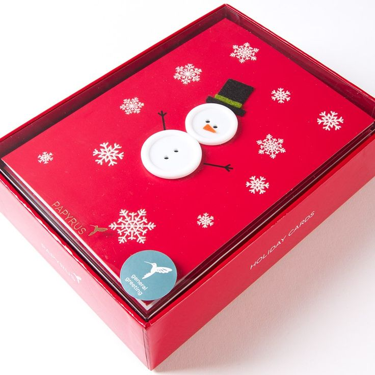 Handmade Button Snowman Price $19.95