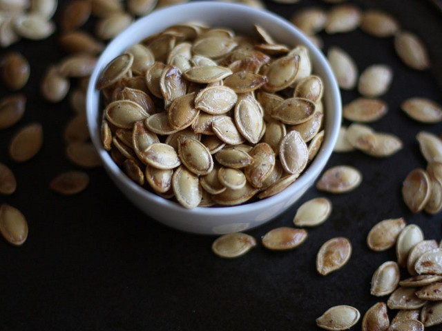 Toasted Pumpkin Seeds | Food & Drinks | Pinterest