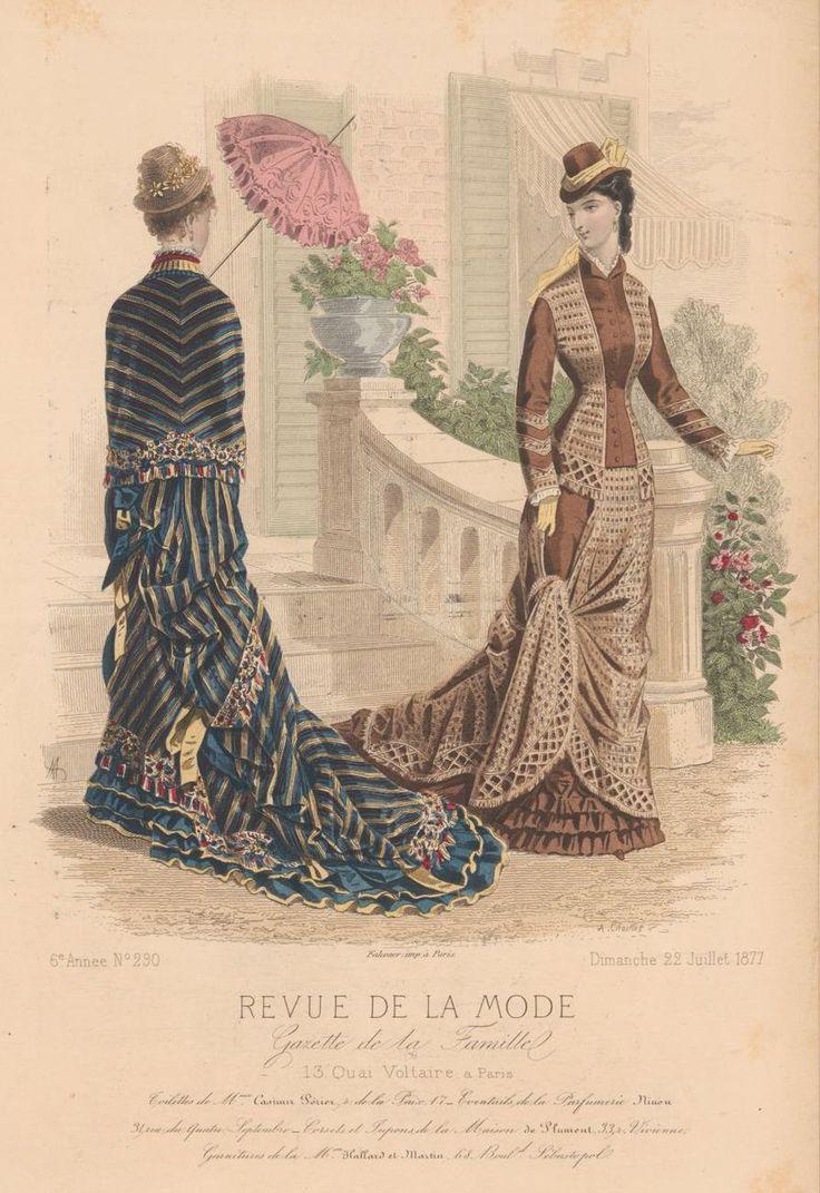 revue de la mode 1877 1800 tals planscher pinterest planscher. Black Bedroom Furniture Sets. Home Design Ideas