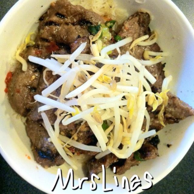 ... Asian sesame oil a 1- to-1 1/4 pound skirt steak or flank steak 1/2